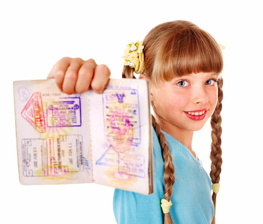 выдача немецкого загранпаспорта для детей / видача німецького закордонного паспорта для дітей / deutscher Reisepass für Kinder
